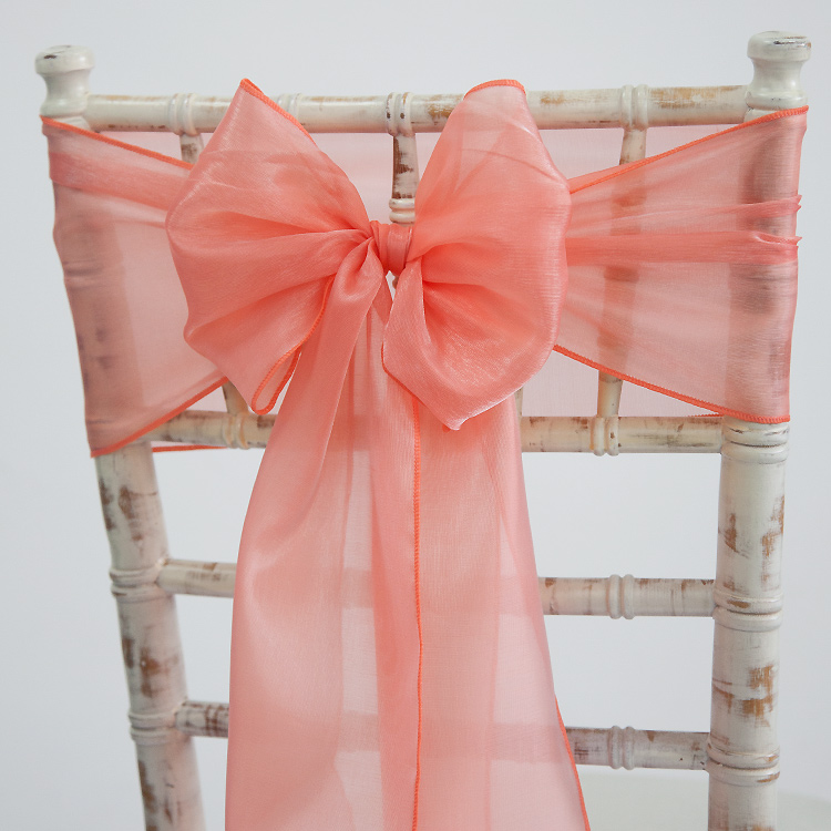 Silk Organza Sashes