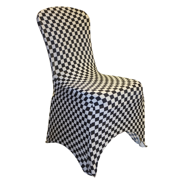 Patterned Spandex Chair Covers