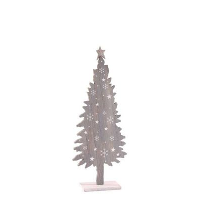 WOODEN TREE GREY XMA1384