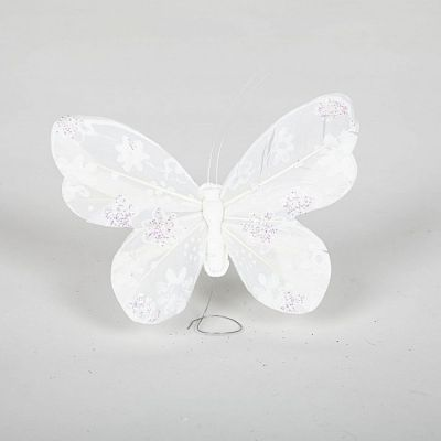 09 White Butterflies - Large