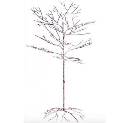 Metal Crystal Hanging Tree 5ft/7ft - Silver