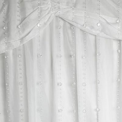 Crystal Clear Curtain large/small bead 03m