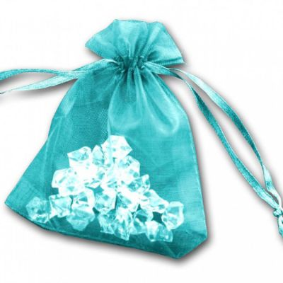 Essential Organza Favour Bags - Turquoise