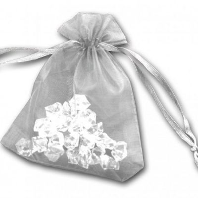 Essential Organza Favour Bags - White