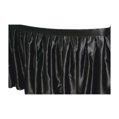 Table Skirt 14ft - Black
