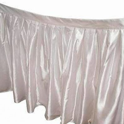 Table Skirt 14ft - Ivory