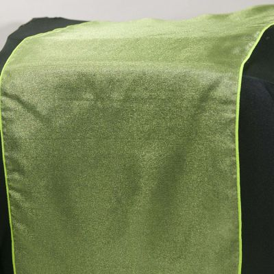 Organza Table Runner - Lime