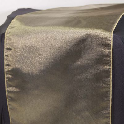Organza Table Runner - Olive