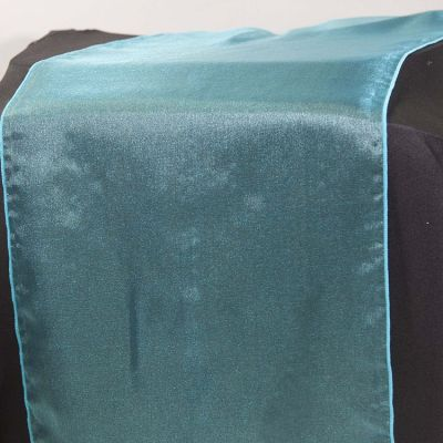 Organza Table Runner - Turquoise