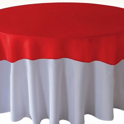 Organza Overlays - Red