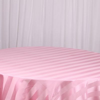 Striped Table Cloths - Pink
