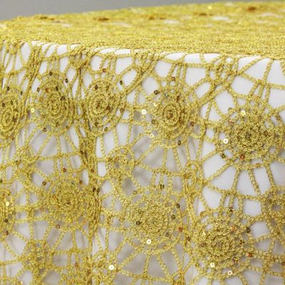 Chemical Lace Overlay - Gold