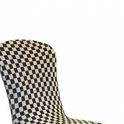 Checkered Lycra Chair Covers