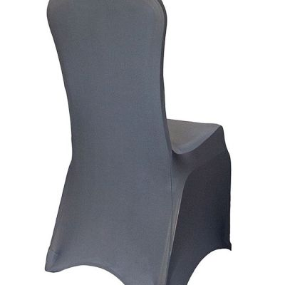 Premium Nylon Lycra Chair Covers - Pewter