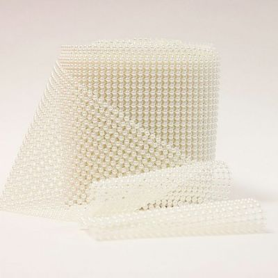 Pearl Mesh Roll - Ivory