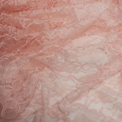 Lace Fabric - Blush Pink