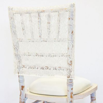 Lace Chair Cap - Ivory