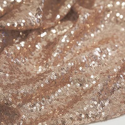 Sequin Fabric - Champagne