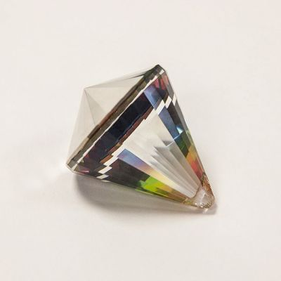 Crystal Drop Prism 40mm - Mirror Finish
