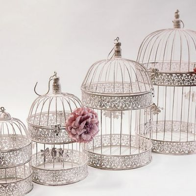Rustic Birdcages Set of 4 CX10631