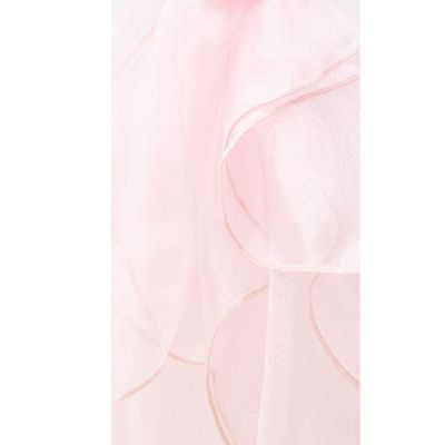 Organza Fabric - Ice Pink