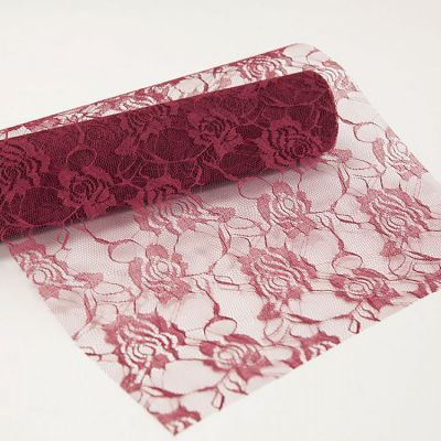 Decor Essential Lace Roll - Wine