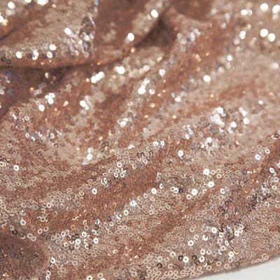 Sequin Fabric Roll 20M - Blush Pink