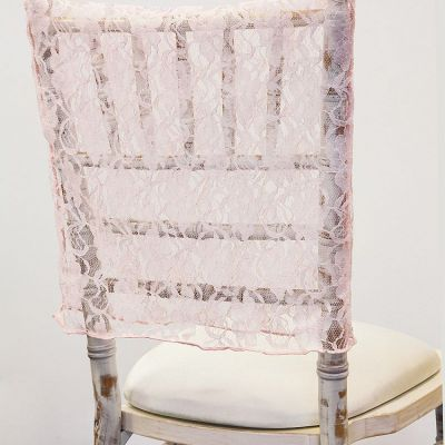 Lace Chair Cap - Blush