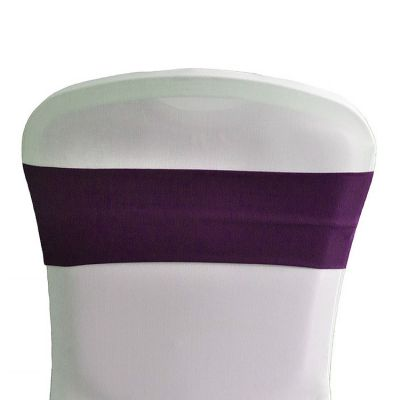 Lycra Chair Bands - Plum