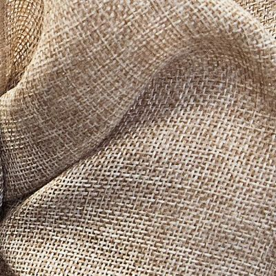 Linen Fabric - Burlap Natural