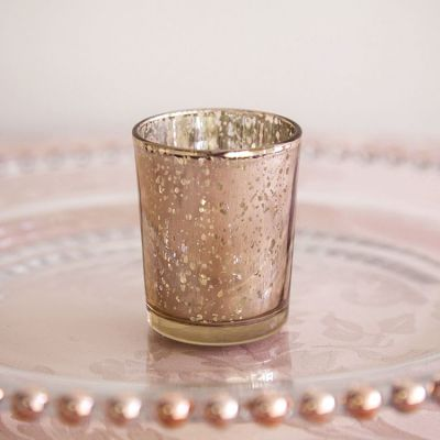 Small Tealight Holder - Champagne