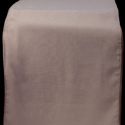 Chiffon Table Runner - Pale Pink