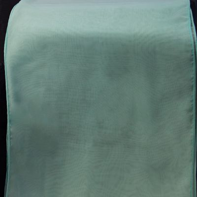Chiffon Table Runner - Tiffany Blue