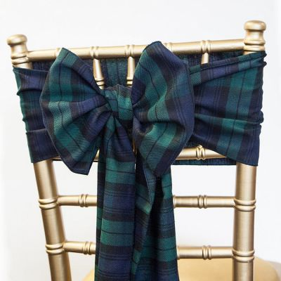Tartan Sash 20cm x 275cm - Blackwatch