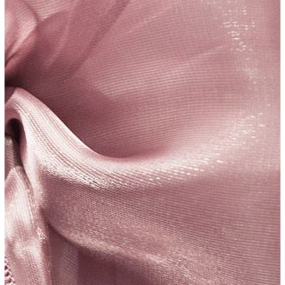 Silk Organza Fabric - Mauve