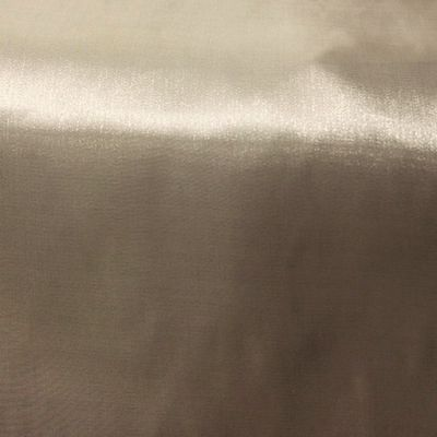 Silk Organza Fabric - Light Champagne