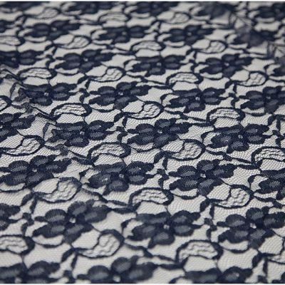 Lace Overlay - Navy