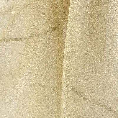 Organza Fabric - Antique Gold