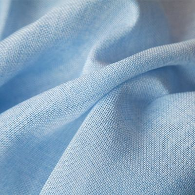 Linen Fabric - Pale Blue