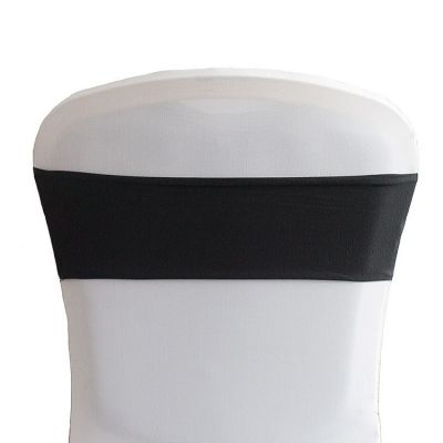 Lycra Chair Bands - Black