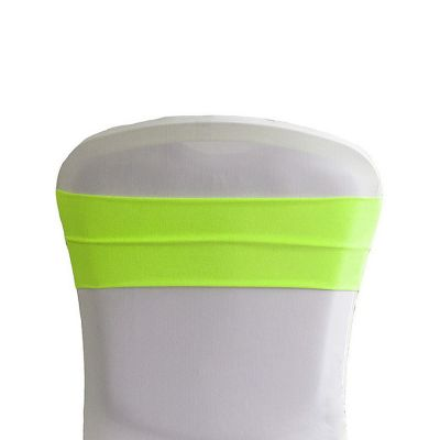 Lycra Chair Bands - Lime