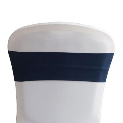 Lycra Chair Bands - Navy Blue