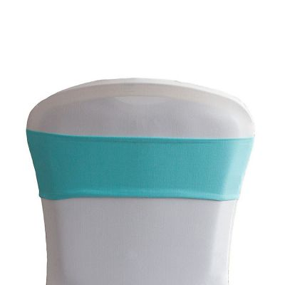 Lycra Chair Bands - Tiffany Blue