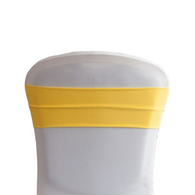 Lycra Chair Bands - Yellow
