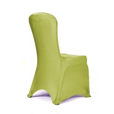 Premium Nylon Lycra Chair Covers - Lime