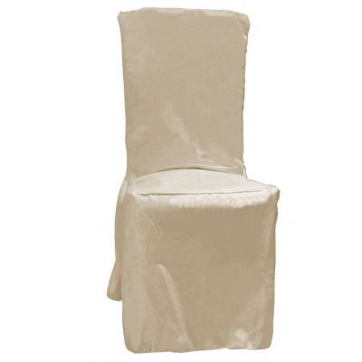 Poly Visa Dining Chair Covers - Ivory