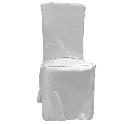 Poly Visa Dining Chair Covers - White