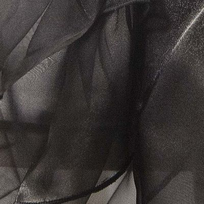 Organza Fabric - Black
