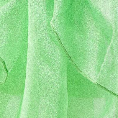 Organza Fabric - Kelly