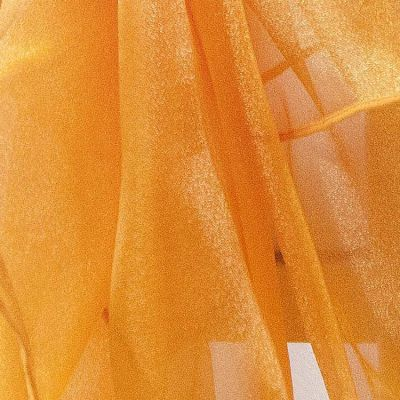 Organza Fabric - Orange